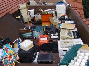 electronics junk recycle e-waste new jersey nj dumpster